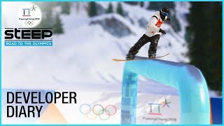 Steep: Road to the Olympics: Olympic Winter Games 2018 | Developer Diary | Ubisoft [NA]