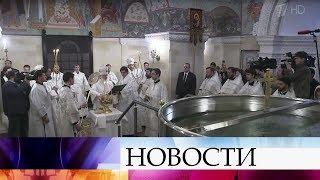 Каждый пятый россиянин готов погрузиться на Крещение в ледяную прорубь - Иордань.