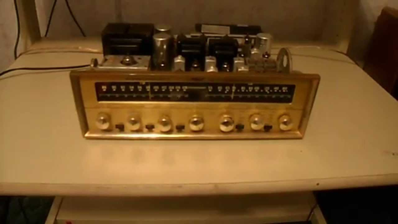 pilot 602 stereophonic tuner amplifier - YouTube