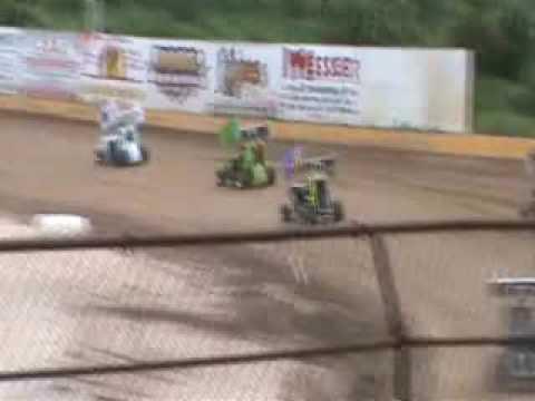 Mini Sprint Heat Race 8 8 09 Hendry County