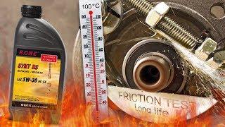 Rowe Synt RS 5W30 HC-C4 Jak skutecznie olej chroni silnik? 100°C