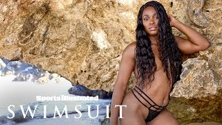 Tennis' Sloane Stephens Takes It Off, Shows Off Powerful Athletic Body | Sports Illustrated Swimsuit