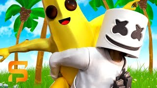 marshmello peely are best friends