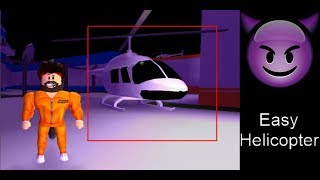 Roblox Mad City How to Easily Escape [Helicopter Trick]