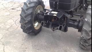 New Holland TN95F Fruit Tractor Front PTO @ Clinton Tractor & Imp.