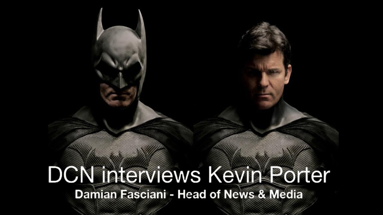 Kevin Porter Interview with DC ics News