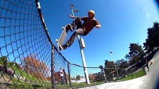 Blunt Fakie Off The Top Rope - Frank Faria - Potrero Skatepark