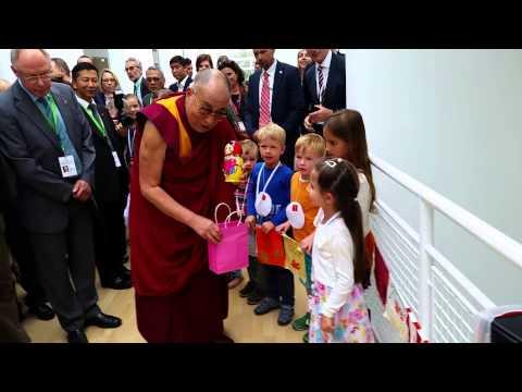 Dalai Lama with Ella