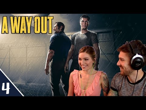 Heading To Harvey | A Way Out Pt. 4 | Marz Plays