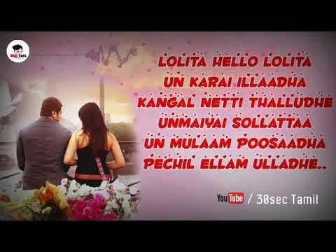 Engeyum kadhal Lolita Song  30sec Tamil Whatsapp Status