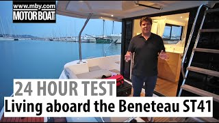Gambar cover Living aboard the Beneteau Swift Trawler 41 | 24-hour boat test | Motor Boat & Yachting