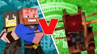 Minecraft Beast Battle ★ THE CATERKILLER (Orespawn Mod) - Dumb and Dumber