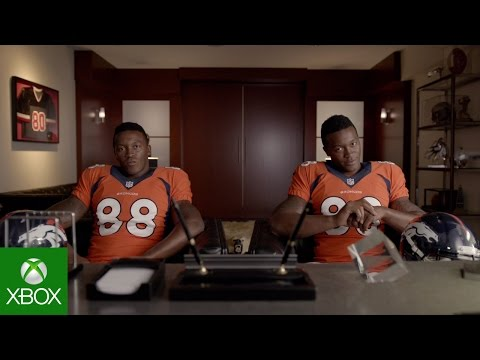 NFL on Xbox: Roster Management with Demaryius Thomas
