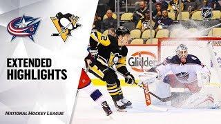 Columbus Blue Jackets vs Pittsburgh Penguins preseason game, Sep 19, 2019 HIGHLIGHTS HD