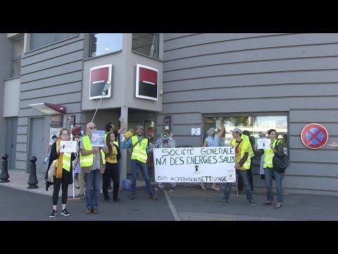 #OpérationNettoyage : On fait le ménage à l'agence Société Générale Mulhouse Tivoli !