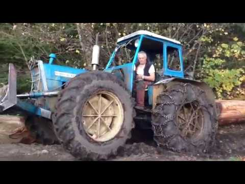 tracteur forestier ford county