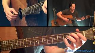 More Than Words Guitar Lesson - Extreme - With Tapping Part!