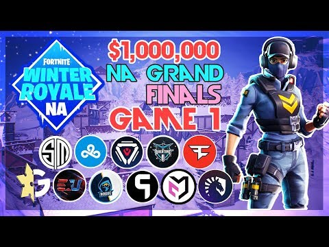 $1,000,000 🥊NA Winter Royale Grand Finals🥊 Game 1 (Fortnite)