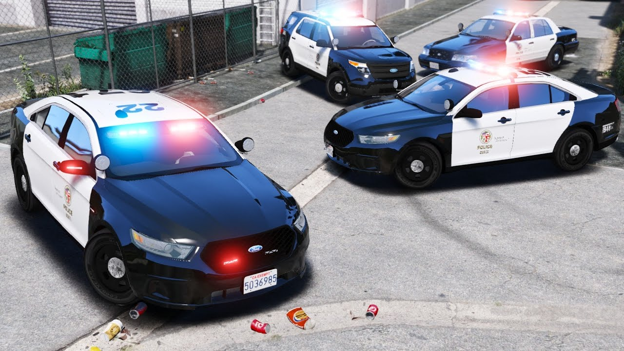 GTA 5 LSPDFR Police Mod 324 | Live Stream | First LAPD ...