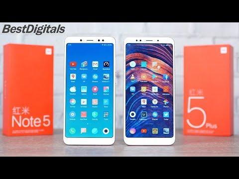 Xiaomi Redmi Note 5 vs Redmi 5 Plus – какой выбрать?