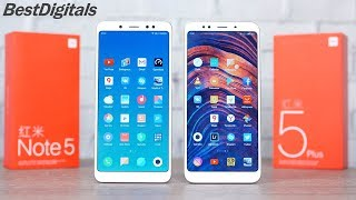 Xiaomi Redmi Note 5 vs Redmi 5 Plus – який вибрати?