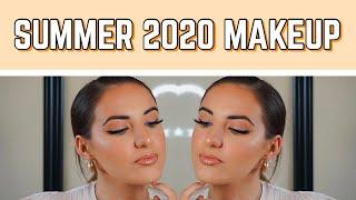 MY ULTIMATE BRONZE GLOWY SUMMER MAKEUP TUTORIAL | SUMMER 2020 GO TO LOOK | Rach Spear