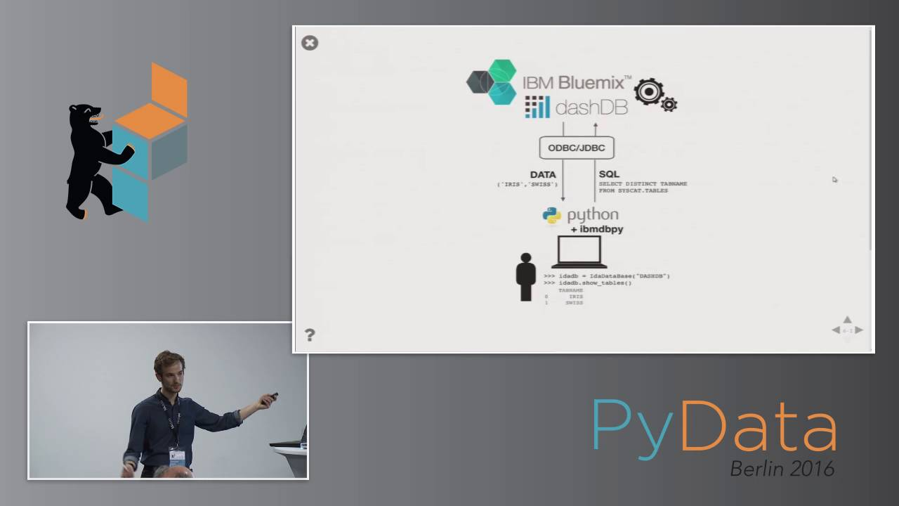 Edouard Fouché - Accelerating Python Analytics by In-Database Processing