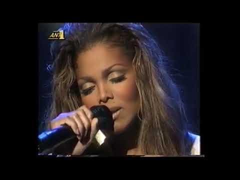 Janet Jackson  Again   @ Oscars 1994 Ant1 TV