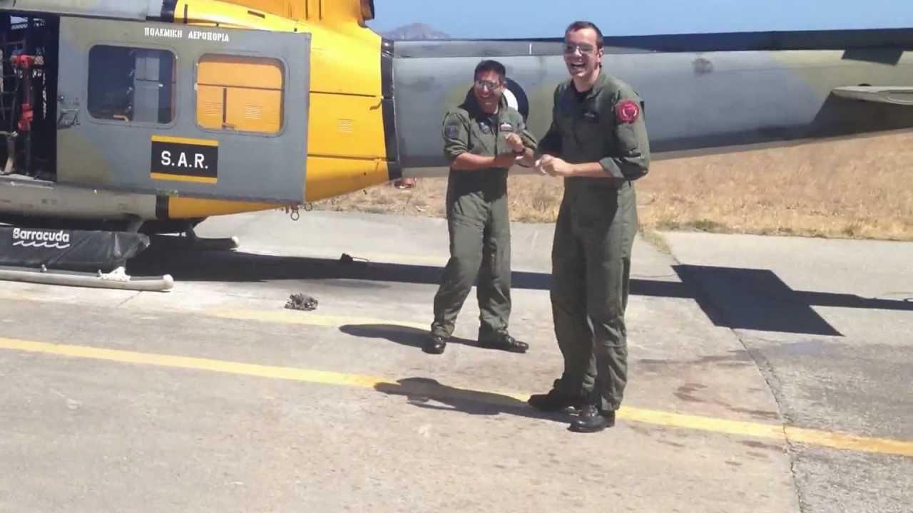 Elicottero 205 : Τελευταία πτήση με ΑΒ youtube
