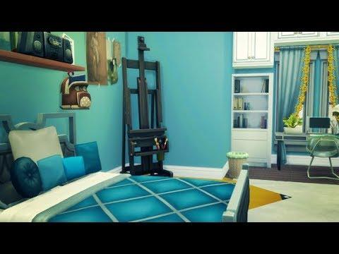 Luxury Dorm Room The Sims 4 University Challenge