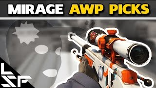 MIRAGE AWP PICKS - CS:GO Tips & Tricks