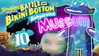 Schleichen durch düsteres ROCK BOTTOM Museum 🧽 SPONGEBOB: BATTLE FOR BIKINI BOTTOM REHYDRATED #10