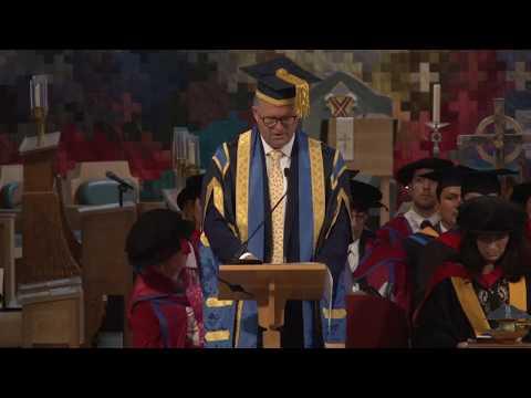Chelmsford graduation ceremony (3pm), 13 October 2017