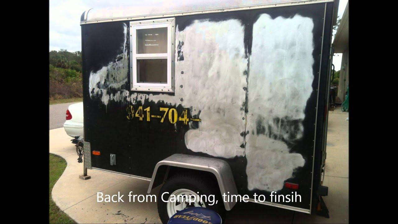 5x8 Cargo Camper Conversion Funnydog Tv