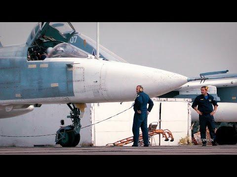 МиГ-31 и Су-24 [50fps]