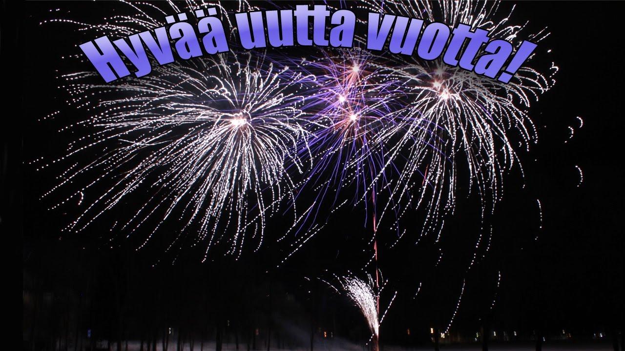 Hyvää Uutta Vuotta 2021