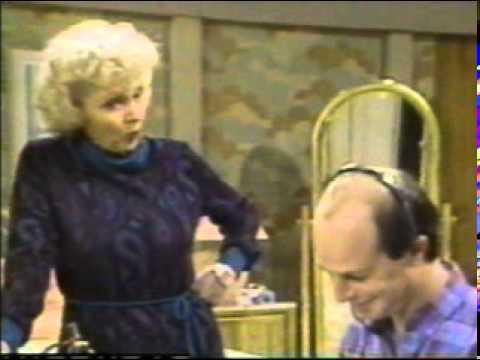 Golden Girls - Betty White funny rehearsal