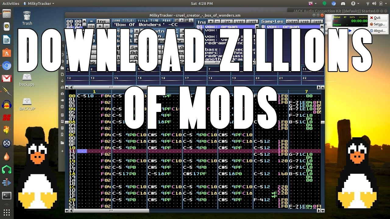 Download Mods In Linux From The Terminal Via Mod Archive Youtube