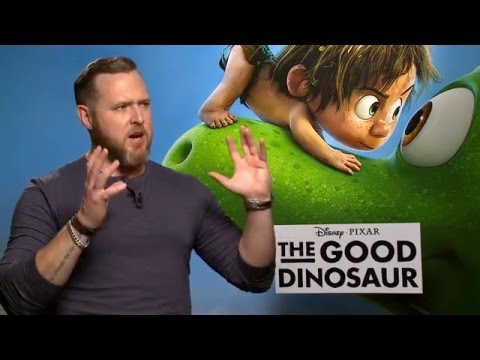 "The Good Dinosaur ""Nash"" Interview - A.J. Buckley"