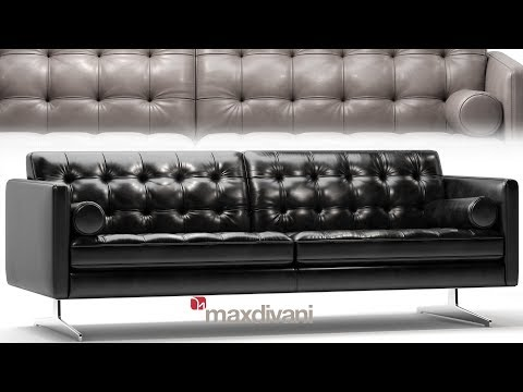 "№179. Modeling Sofa "" Gran Torino Maxdivani "" Autodesk 3ds Max & Marvelous Designer"