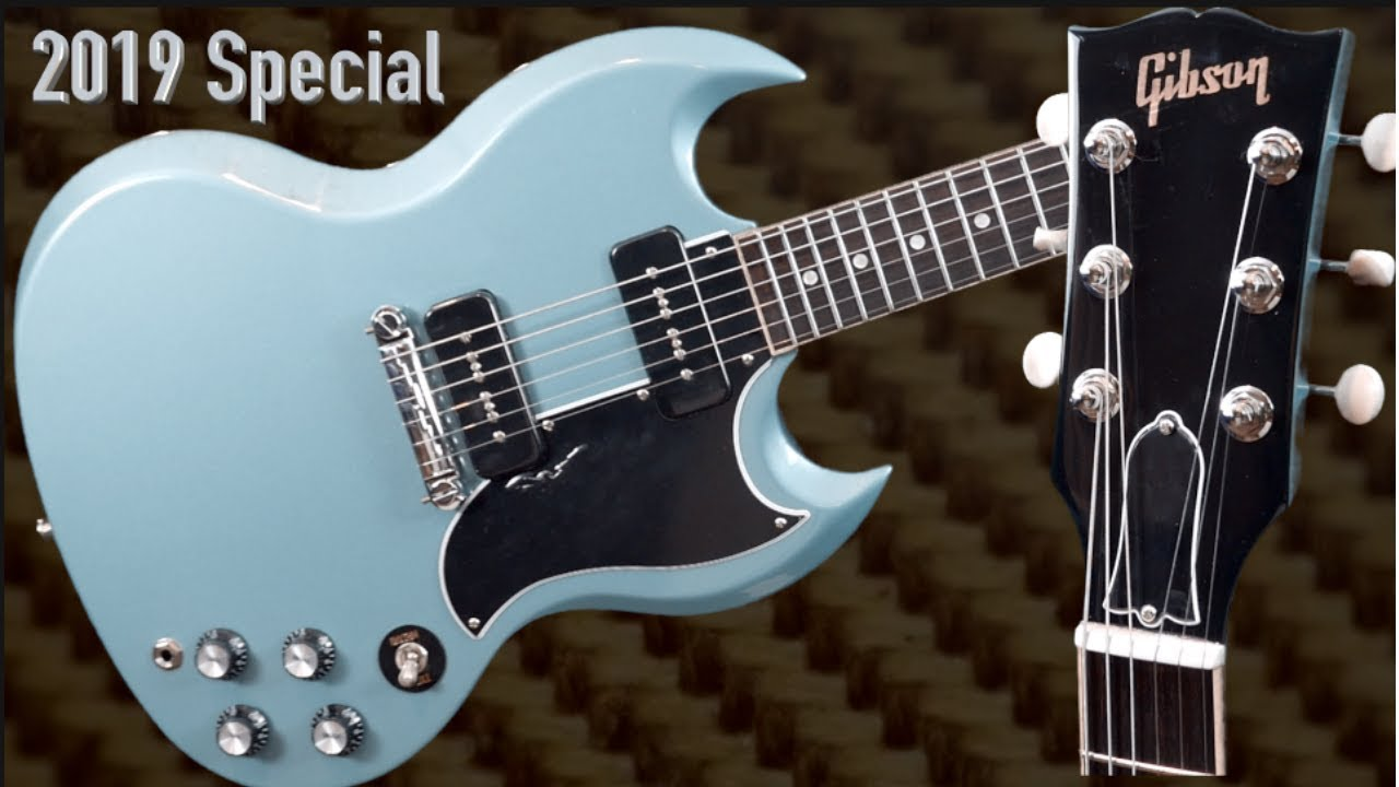 Is the New 2019 SG Special Any Good? Faded Pelham Blue Review + Demo