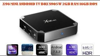X96 TV BOX 2GB RAM 16 GB ROM TÜRKÇE  DETAYLI İNCELEME GEARBEST