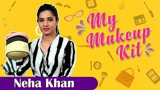 My Makeup Kit With Neha Khan | Marathi Actress | Shikari | Marathi Movie 2018