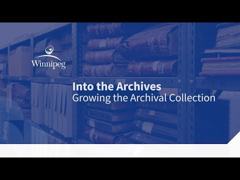 Into the Archives: Growing the Archival Collection