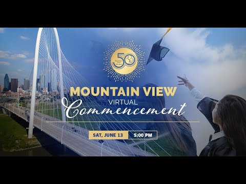 Mountain View College 2020 Graduation