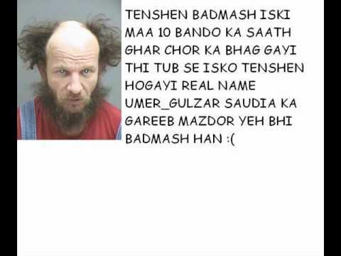 Adi RASHID SAHAR UMER URF TENSHEN Gulzar Sp Ki Real Pics  aur in Tatto ki oqat.wmv
