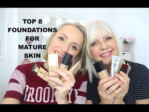 Best face foundation for mature skin