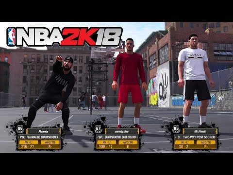 NBA 2K18 My Career - THE PLAYGROUND!! *NEW PARK* (NBA 2K18 Gameplay)