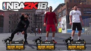 NBA 2K18 My Career - THE PLAYGROUND!! *NEW PARK* (NBA 2K18 Gameplay)