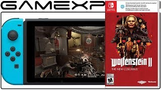 Wolfenstein 2 on Nintendo Switch Requires Download for Physical Version